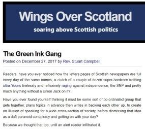 Wings Green Ink Gang