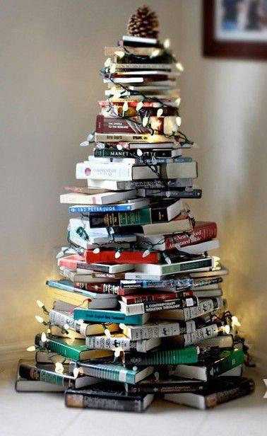 Xmas book tree