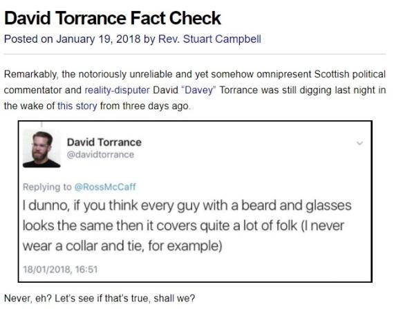 Torrance Fact Check