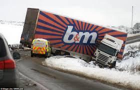 snow lorry