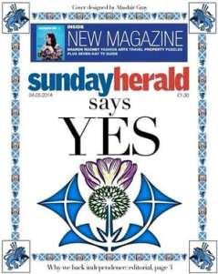 Sunday Herald Yes