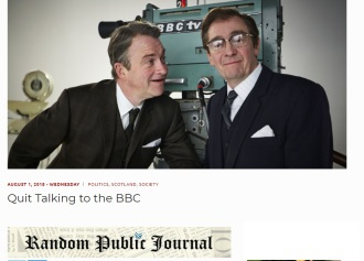 Quit talking to the BBC