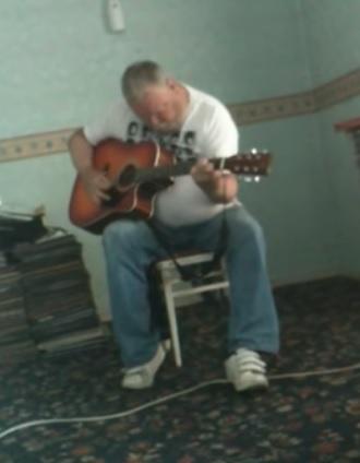 angry guitar