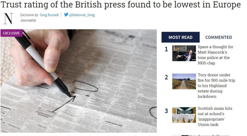 untrsutworthy press